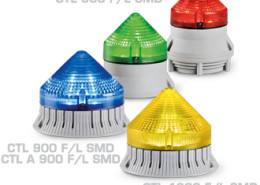 SMD LED warning and emergency devices